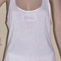 apt.9 Sparkle & Lace Bridal Pajama Set Tank & Shorts Blush/white Medium Nwt 36 Photo