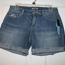 Apt 9 Womens Modern Jean Shorts Sz 2  New Photo