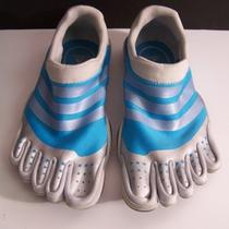 Aqua Adidas Adipure Training Toe Shoes Size 7 Photo