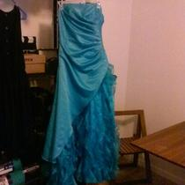 Aqua Blue Fancy Dress Photo