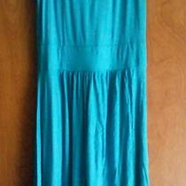 Aqua Color Summer Dress Sz S Photo
