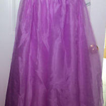 Aqua Embellished Formal Dress Nwt Grad/prom/wedding/evening Orchid Size 10 Photo
