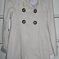 Aqua Girls Size Small 'Khak' Color Coat Orig. 84 Measures 14.5in Pit to Pit Nwt Photo