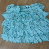 Aqua Sz 14 Years Ruffle Skirt Crew Cuts  Photo