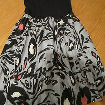 Aqua Women's Dressesblack & Grey Straplesssize Xsmall Photo