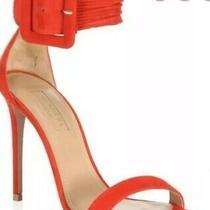Aquazzura Casablanca Sandals Sz 40 Red Beautiful  Photo