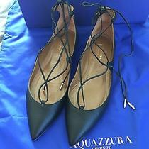 Aquazzura Christy Lace Up Flats Photo