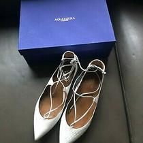 Aquazzura White Leather