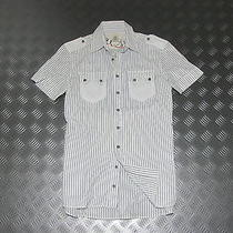 (Ar496) Diesel Premium Shirt Top Original Italy Vintage Unique Rare Size S Photo