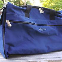 Aramis Life Duffle Bag Blue Gym Bag Sports Carry on Travel Luggage Soft Sided Photo