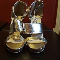 Arden B Metallic Sandles Photo