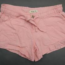 Arden B. Size S Womens Pink Drawstring Summer Casual Linen Shorts 299 Photo