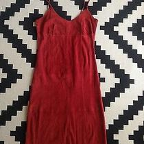 Arden B Vintage Sexy Leather Red Dress- Size- 4 Photo