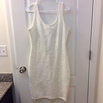 Arden B White Dress Size Large Photo