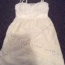 Arden B White Dress Sz S Photo