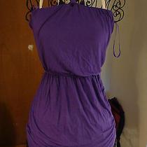 Arden B Woman's Purple / Violet Halter Dress Photo