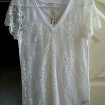 Areopostale Lace Tee Large  Photo