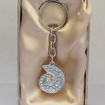 Argento Sc Silver  Crystal Lized  Swarovski Elements  Key Ring Charm  Photo