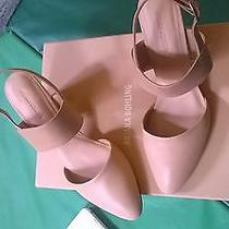 Ariana Bohling Shoes Lana Size 9 in Blush Wooden Heel Photo