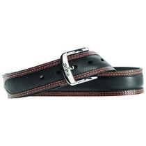 Ariat A10005802-42 Mens Diesel Leather belt&44 Black & Tan - Size 42 Photo