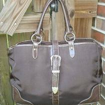 Ariat Brown Croc Western Cowgirl Bling Bag Looks Great With Boots Buckle Diaper Photo