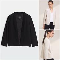 Aritzia Babaton Size 4 Steven Japanese Crepe Open Blazer in Black Nwot 198 Photo