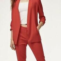 Aritzia Power Blazer Sz 0 Madewell Zara Photo