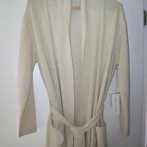 Arlotta Long Luxury 100% Cashmere Robe  Size Small Nwt Photo