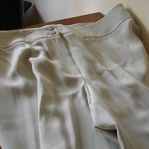 Armani Collezione Off White Pants Size Us 16 Photo