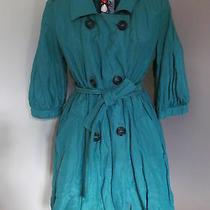 Armani Collezione Stylish Ladies Cotton/silk Coat/top Size 38 Bnwt Rrp478 Photo