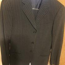 Armani Collezioni 3 Button Gray Men Suit Sz 38 R 045 Photo