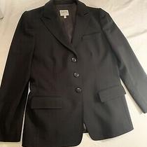 Armani Collezioni Black Blazer Jacket Womens 8 Photo