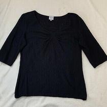 Armani Collezioni Black Top. Size 48. Good Condition. Photo