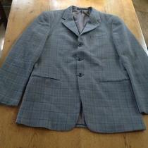 Armani Collezioni Brown Plaid Blazer Sport Sport Coat 40l Photo