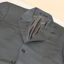 Armani Collezioni Gray Blazer Sport Coat 42 R 100% Wool  Photo
