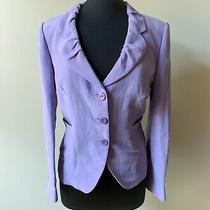 Armani Collezioni Lilac Blazer Size 12 Photo