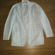 Armani Collezioni Men's 100% Linen Blazer Size 50 (Eu) Photo