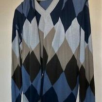 Armani Collezioni Mens v-Neck Cotton Sweater & Vest 2 Piece Set  Sz58 Photo