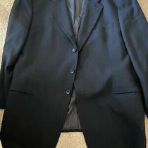 Armani Collezioni Mens 100% Blue Blazer Jacket Sport Coat 3 Button  48 R Photo