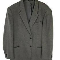 Armani Collezioni Mens 48l 100% Wool Mosaic 2 Button Sport Coat Photo