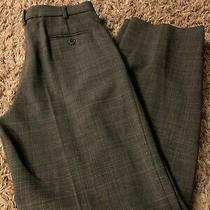 Armani Collezioni Pants Size 6 Women's Slacks Grey 100% Wool  Photo