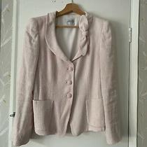 Armani Collezioni Pink Blazer Style Jacket With Bow. Size 40. Size S/m Photo