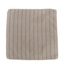 Armani Collezioni Silk Jacquard Pocket Square Handkerchief Herringbone Pattern Photo