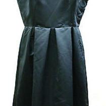 Armani Collezioni Slate Taffeta Party Dress Sz 12 985 Nwt Photo
