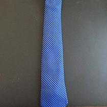 Armani Collezioni Tie Blue With Blue Dots Photo