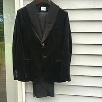 Armani Collezioni Velvet Blazer Jacket W/ Pants Set - Brand New Size 38 R Photo