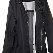 Armani Collezioni Water Repellent Zip Hooded Coat Jacket Size 42 Photo