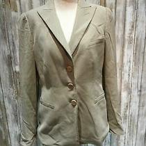 Armani Collezioni Women Blazer Size 6 Gray B20 Photo