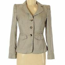 Armani Collezioni Women Brown Blazer 6 Photo