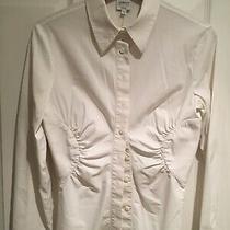 Armani Collezioni Womens Shirt Size 10/eu 42 Photo